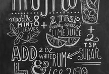 chalk board illustration