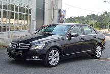 Mercedes C220 Cdi Avantgarde 07 (Xenon,Navegacion cambio automatico,piel,parktronic)...18500 Eur.
