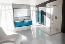 Ambiance Bain / Equipements salle de bain haut de gamme, disponibles chez Aquabains.