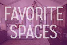 Favorite Spaces