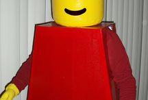 Lego kostuum