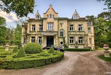Konstancin Jeziorna - Pałac / Pałac w Konstancinie Jeziornej, a tak naprawdę luksusowa willa wybudowana z początkiem XX w. Na sprzedaż za ciężką kasę :)