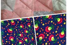 Kırkyama ve örtüler-patchwork&cover