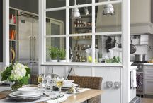 Verrière in dining room decorating ideas