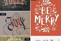 Hand-Lettering / Letters, Signs, Quotes