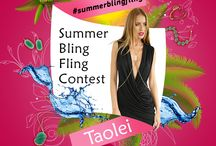 Summer Bling Fling Contest / Show us your summer inspiration!