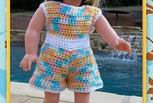 Crochet Doll / Barbie Clothes / by Marie Cabagnaro Bodnar-Doty