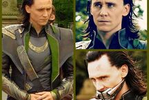 Tom Hiddleston and the avengers