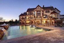 extravagant house