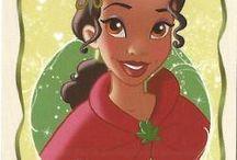 Disney Princesas. Tiana