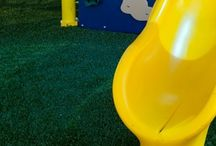Playground Surfacing / Play & Park Structures offers 6 different types of surfacing to accommodate your playground surfacing needs.