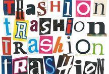 Trashion / My Sweet Riot - Attitude made to wear // Online shop: mysweetriot.etsy.com