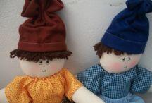 Minhas bonecas de pano minha paixão / Feitas com carinho