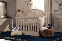 Oliver 4-in-1 Convertible Crib / The Oliver 4-in-1 convertible crib with toddler rail grows with baby. With contemporary details, the crib's solid headboard with intricately carved, recessed panels will instantly become a stoic centerpiece for the nursery. In a new grey mist finish the crib is flushed to the floor with rich base molding details.