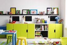 P L A Y R O O M / ideas for a fun, friendly kid space / by Lyndsey Grundman