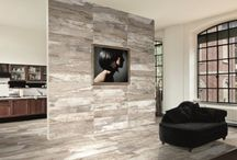 Accent Walls / Dare to be different. An accent wall can help to break up a large room or accentuate a feature wall.