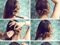 hair ideas / by Brittany Kaluhikaua