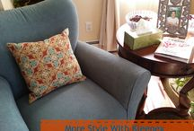Style Your Home / Home Styles complimented by Kleenex New Styles! #KleenexStyle #ad