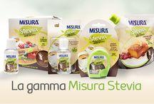 La gamma Misura Stevia / A ognuno il proprio formato :)