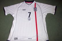 England Football Shirts - Classic Football Shirts / England Football Shirts on the website www.classicfootballshirtscouk.com