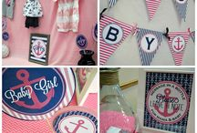 Nautical baby party