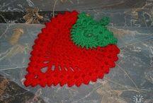Fruta crochet