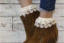 Fall socks and shoe looks