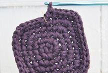 Crochet réalisés