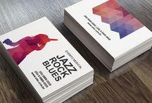 cartões de visita / Alguns de nossos modelos de cartões que você pode personalizar e pedir.