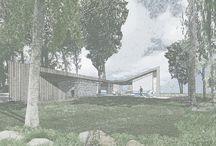 Architechture Sketches/Tegninger