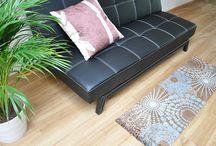 Teppichläufer / Läufer in verschiedenen Farben, Designs und Größen. Für Ihr Bad, Küche, Eingangsbereich, Wohn- und Schlafzimmer. Verlängern optisch Ihren Raum.