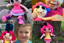 Kid Crochet, Dolls and Toys / Crochet patterns of dolls, toys, and any kid stuff / by Stephanie Fuller