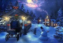 Christmas Landscapes / It's all about christmas