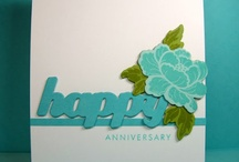 Cards-Anniversary / by Cindy Hehmann
