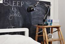 Chalkboard @ home & office / Chalkboard ideas for word..efull spaces