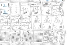 First Grade CCSS Math / These math resources and ideas are great for planning math lessons to meet CCSS first grade standards.
