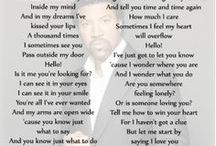 Song_Lyrics._ / Songs  / by Dave Beaudry