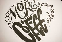 Typography and calligraphy / Handmade lettering