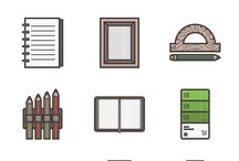 Components - Web Design / Collection of free icons and components for web design