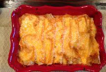 Gluten free / Enchiladas  / by Michelle Smith