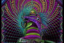 Psychedelic & Grotesque Art