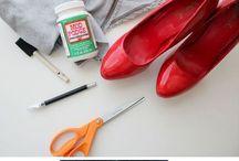 DIY παπούτσια