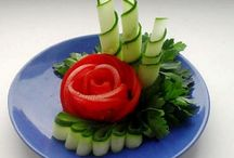 aranžmá zeleniny