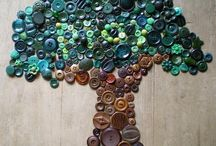 button tree / by Candy Rogers