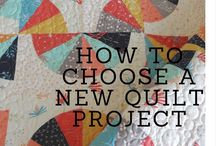 Quilting Tips and Tutorials / My favorite quilting tips and tutorials from my own blog and from around the web.