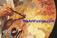 Art Fusion / The blending of art mediums.  Check out the workshops at the annual ArtFusion Event.  www.ArtFusionEvent.com