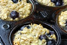 Blue berry baked oats