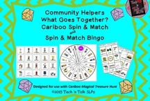 CARIBOO COMPANIONS:  SLP Blog posts and TpT materials for use with Cariboo game boards. / Everything Cariboo for the SLP