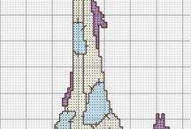 graficos de punto para Crochet