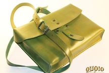 QUOIO LEATHER BAGS / ENTIRELY HAND MADE BAGS